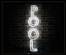 POOL Neon Sign